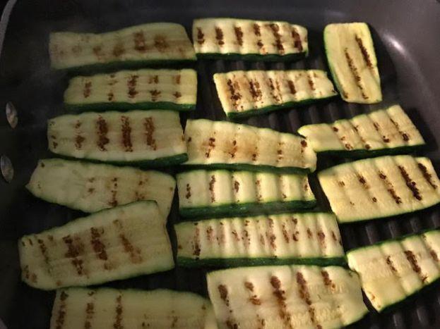grilled zuchinni